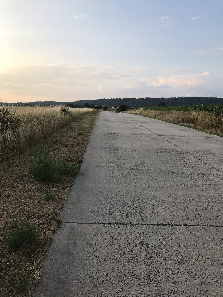 Bild meiner Laufstrecke